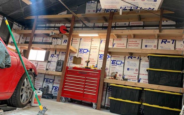 Costruire il mio scaffale per garage renderà la mia vita straziante molto più facile