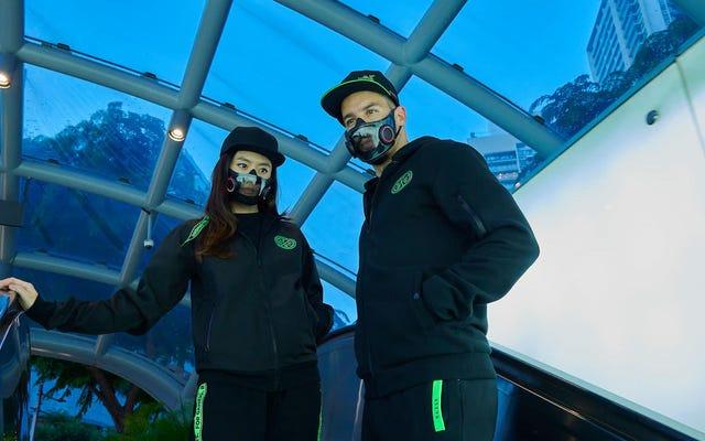 A Razer está transformando seu conceito de máscara facial com RGB em uma coisa real
