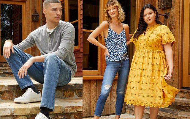 Madewell Giysileri ve Ayakkabıları Nordstrom Rack'ta Satışta