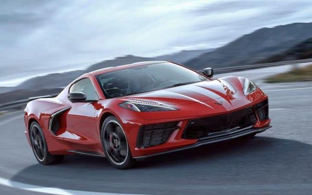 La Corvette C8 2020 commencera à moins de 60000 $