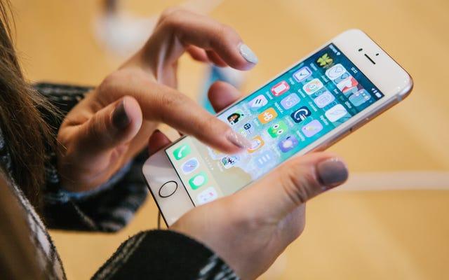 Déplacer presque toutes les applications hors de l'écran d'accueil de votre téléphone