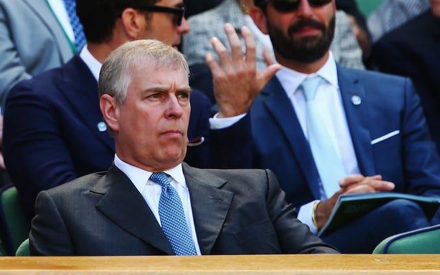 El tribunal presenta reclamaciones que el príncipe Andrew tuvo relaciones sexuales con una mujer menor de edad