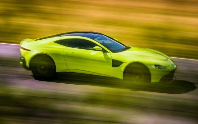 El Aston Martin Vantage 2019 no se conforma con nada
