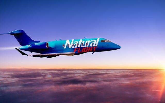 """Natty Light ofrece un """"vuelo a ninguna parte"""" en un autobús de fiesta aerotransportado"""