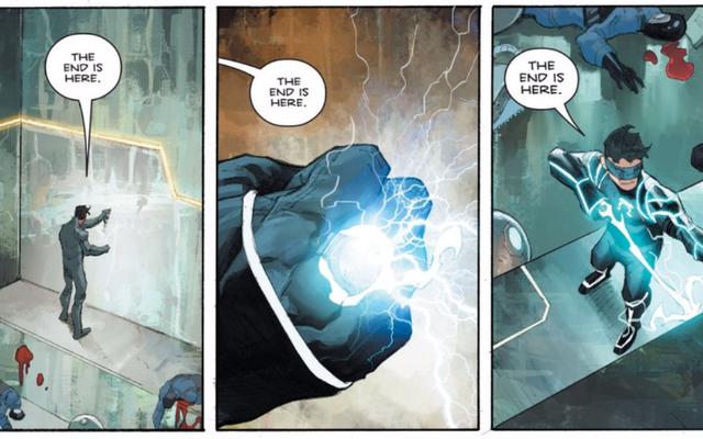 オメガの男性は、スーパーヒーローコミックでこれまでで最も暗いエンディングの1つをやめました