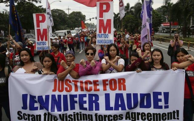 Marinir Dinyatakan Bersalah karena Membunuh Wanita Transgender di Filipina