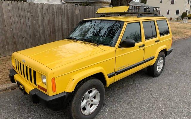 3,800ドルで、この2WDのみの2001年ジープチェロキースポーツは何らかの牽引力を獲得しますか?