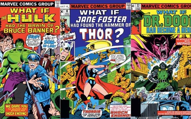 La beauté secrète des bandes dessinées What If de Marvel