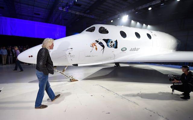 Richard Branson dit qu'il enverra des gens dans l'espace avant Noël