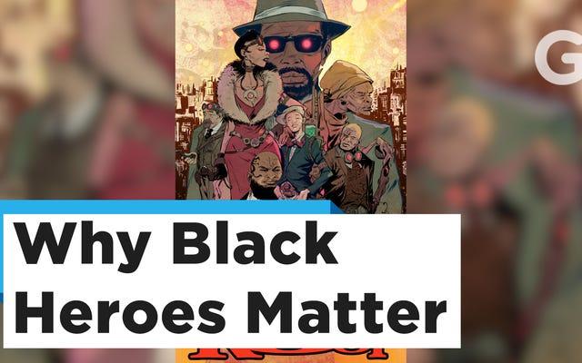 I creatori di Bitter Root vogliono che le avventure di una famiglia di cacciatori di demoni riportino i lettori indietro nella storia nera