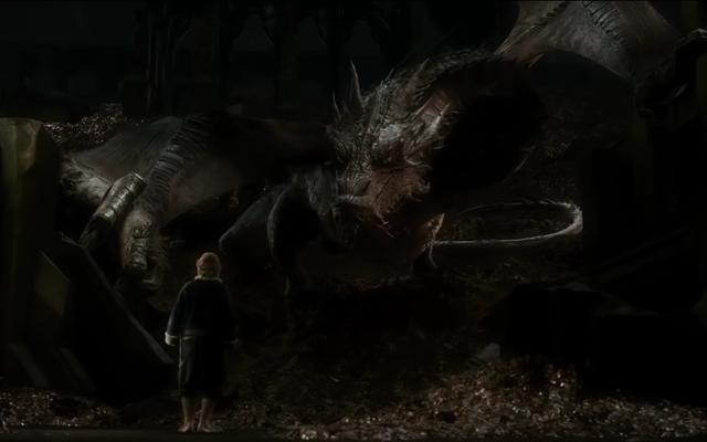 Извините, но Смауг Хоббита по-прежнему лучший дракон