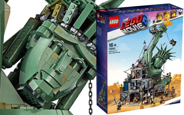 Welcome To Apocalypseburg è il più grande set cinematografico Lego mai realizzato