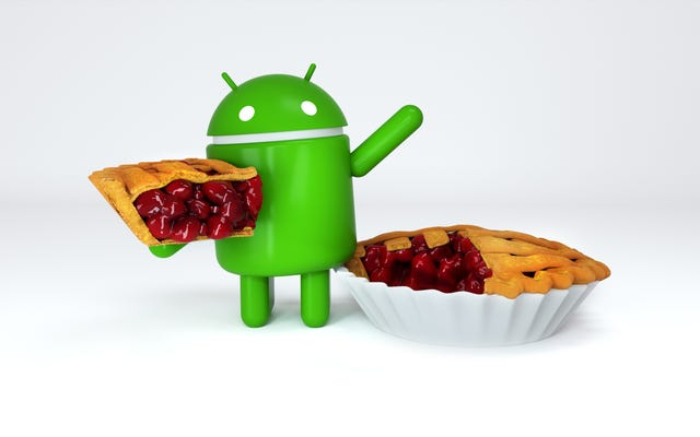 AndroidPが正式にAndroid9Pieになりました