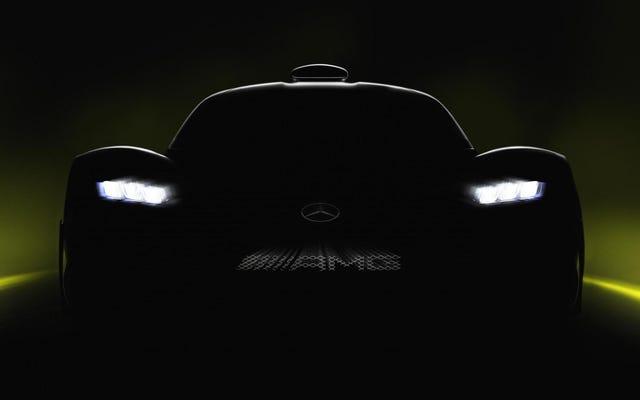 मर्सिडीज-एएमजी की स्ट्रीट-लीगल एफ 1 कार में 217 एमपीएच से अधिक की टॉप स्पीड होगी