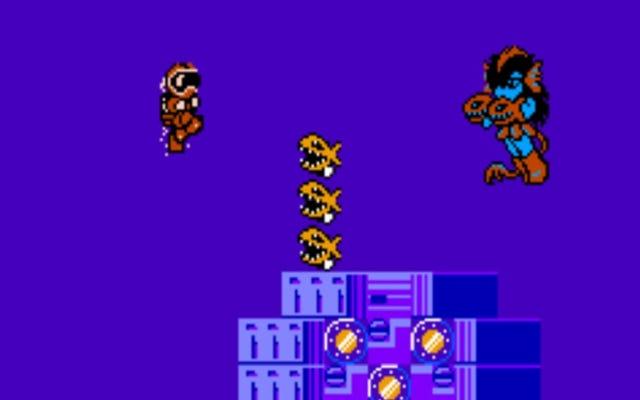 Clash At Demonhead giống như chơi một bộ phim hoạt hình 8 bit thú vị đến kỳ lạ