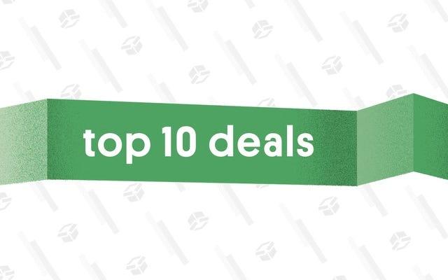 Les 10 meilleures offres du 3 octobre 2018