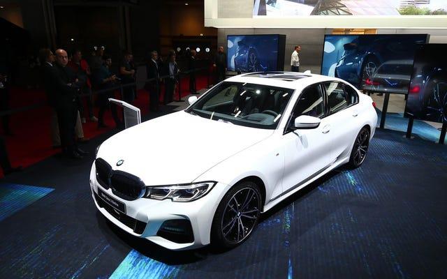 La BMW Série 3 2019 US-Spec fait ses débuts sans transmission manuelle