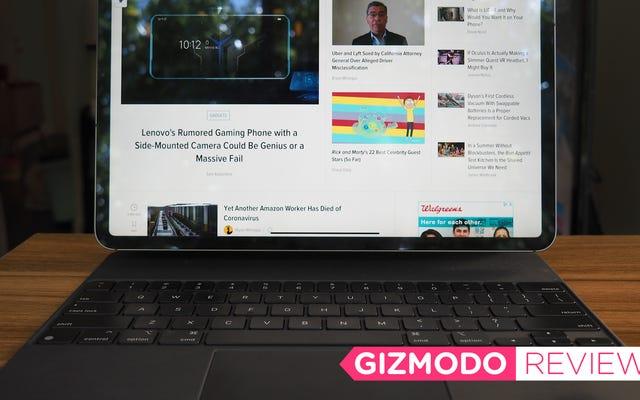 Magic Keyboard ของ Apple เปลี่ยน iPad Pro ให้กลายเป็นแล็ปท็อปตัวเล็ก ๆ อย่างแท้จริง