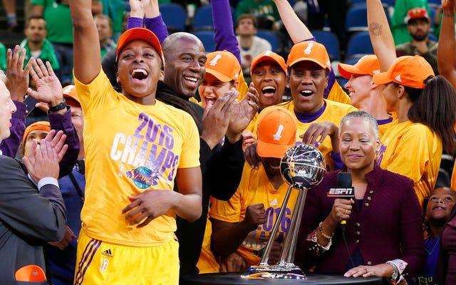 WNBA: Ref Mengacau, Keranjang Go-Ahead Seharusnya Tidak Dihitung