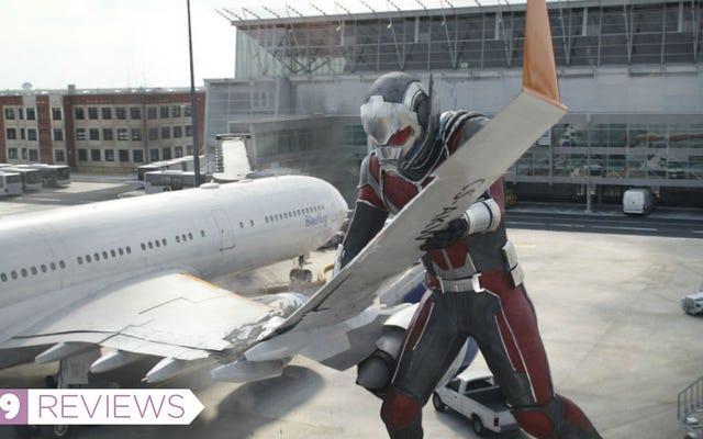 Même Captain America et Iron Man seraient d'accord pour dire que le Blu-Ray de la guerre civile est un incontournable