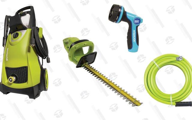 ホームデポの販売中にサンジョー屋外ツールと機器を買いだめ