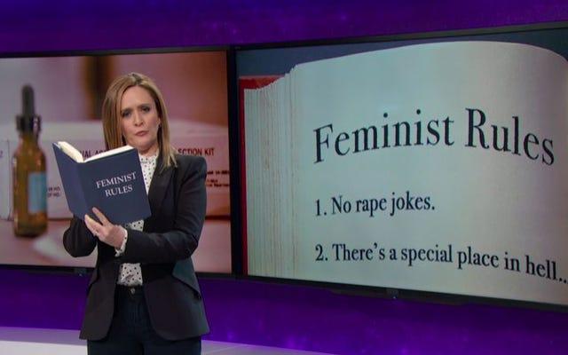 Full Frontal With Samantha Bee được gia hạn thêm một năm vì sự phẫn nộ chính đáng