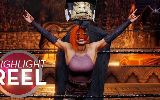 WWE 2K20 ग्लिच हेल है