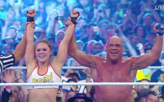 การทบทวน WrestleMania 34 ซึ่งอาจยังคงดำเนินต่อไป
