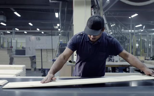 All'interno del progetto globale di Ikea per realizzare mobili in legno massello