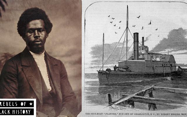 Les rebelles de l'histoire des Noirs: la grande évasion de Robert Smalls