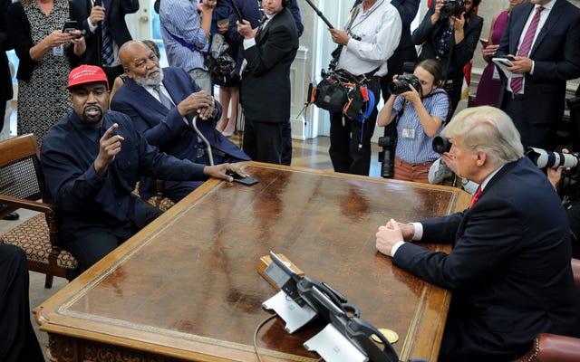 Donald Trump memiliki hidung untuk sampah orang kulit hitam