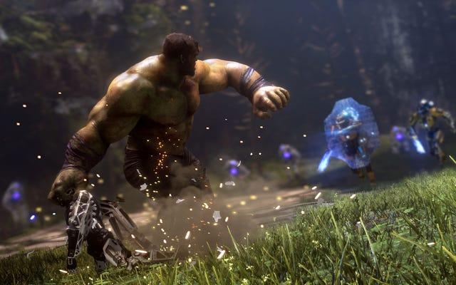 ¿Por qué Hulk se siente tan insignificante en la beta de Marvel's Avengers?
