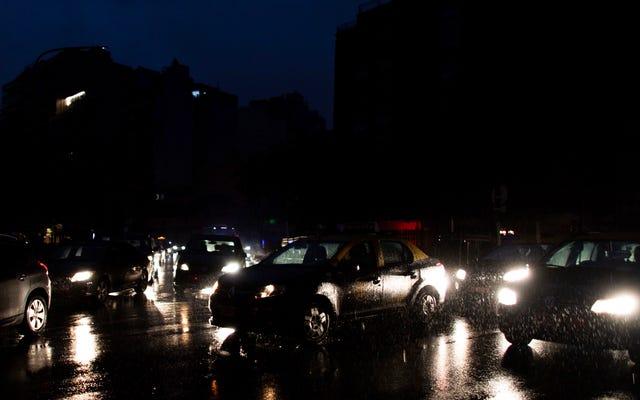 アルゼンチンのような国全体が電気なしでどうしてあるのでしょうか