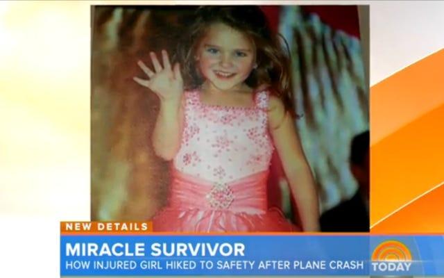 Un niño de siete años sobrevive a un accidente aéreo y camina por el bosque en busca de ayuda
