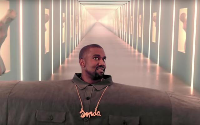 Internet phản ứng với video mới kỳ lạ của Kanye West