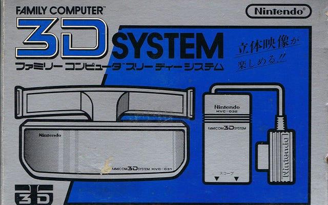 Cette fois-là, Nintendo et Sega ont introduit le jeu 3D, en 1987