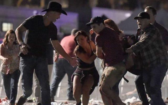 シューターがラスベガスストリップのカントリーミュージックフェスティバルで発砲:容疑者を含む58人以上の死者