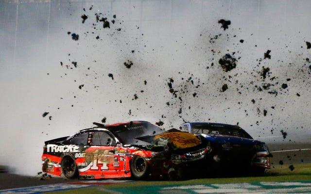 NASCARオールスターレースは巨大な混乱でした