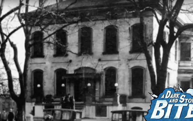 暗くて嵐の一口:アメリカで最も幽霊の出る醸造所で死者と一緒に樽スタンドを裂く