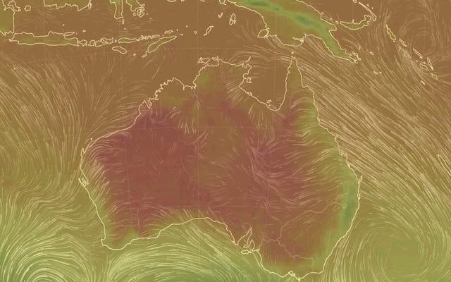 オーストラリアはちょうど新しい熱記録を打ち立てました[更新:再び]