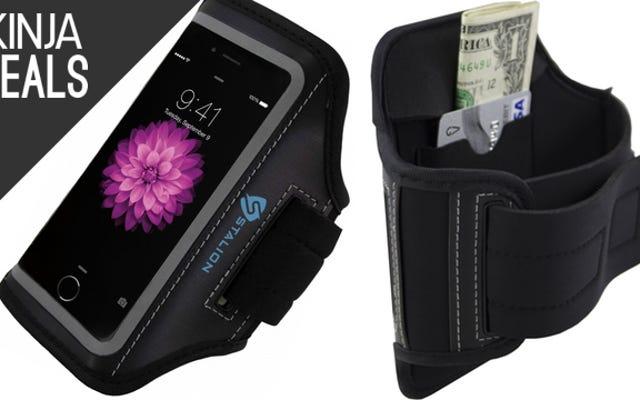 Возьмите свой новый iPhone на пробежку с этой повязкой за 5 долларов