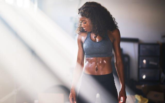ギフトの12日間、5日目:体を鍛える