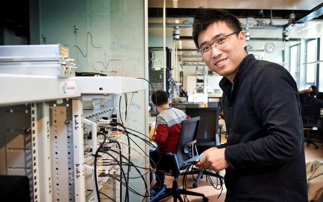 マイクロソフトは、将来の量子コンピューターのために野生の半電子準粒子を作成します