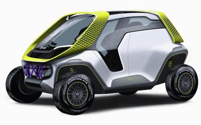 Tracy EV ConceptのL字型シートは、旅行を上品な環境に優しいラウンジに変えます