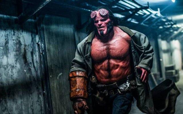 Hellboy de David Harbour est absolument horrifiant