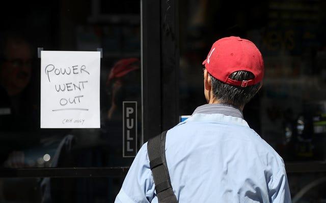 PG&E może ponownie wyłączyć zasilanie, gdy Kalifornia mierzy się z pogodą pożaru [Zaktualizowano]