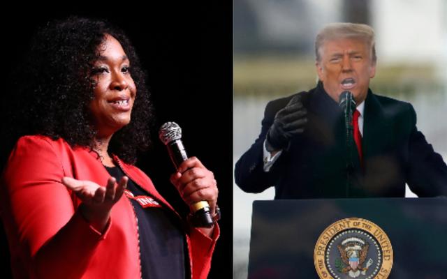 Shonda Rhimes llamó a Trump un 'bebé perra ignorante': cómo respondió Hollywood negro al incendio del contenedor de basura de DC