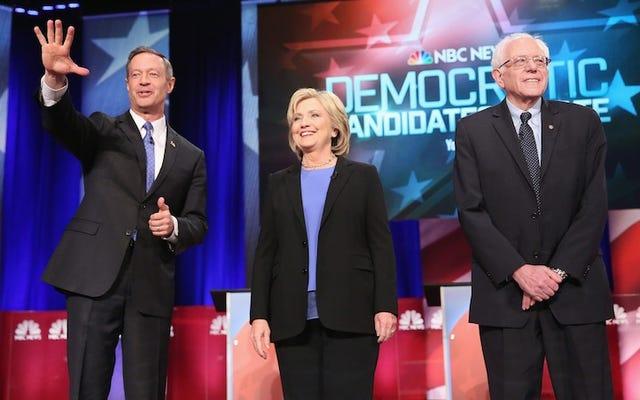 民主党の大統領候補は、拡大された討論スケジュールに同意する
