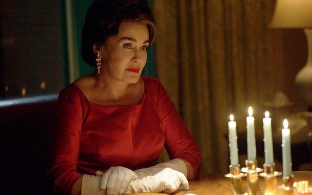 はい、ひどいジョーン・クロフォードの映画「トロッグ」がフェーデのフィナーレに登場します
