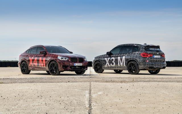 बीएमडब्ल्यू ने नई X3 M और X4 M को Nürburgring DTM वीकेंड में पेश किया